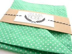 Personalized Pocket Square Handkerchiefs by Zelma Rose | Hatch.co