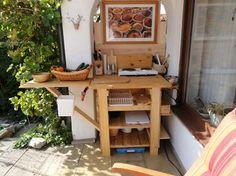 Outdoor Küche Bauen Anleitung : Mobile gartenküche home outdoor living garden kitchen