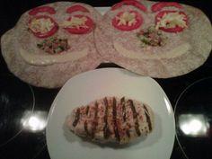 Shawarma Wraps with Jalapeno-stuffed Chicken
