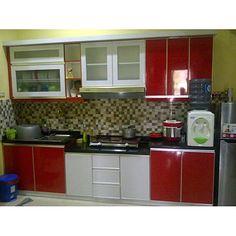 Kitchen Set Mini Sederhana Alumunium