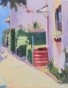 Charleston by Linda Hunt 14X11 cityscape Southern by LindaHunt, $175.00