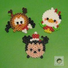 Tsum Tsum Perler Beads Christmas Mickey