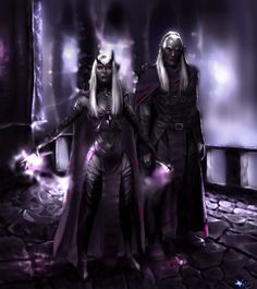 Malice and Zaknafein by ~AndreiGothVoicu on deviantART