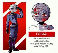 Hetalia, Regimen Militar, Latina, Mundo Comic, Country, Kawaii Anime, Chile, Cute Girls, Fan Art
