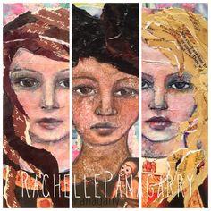 rachelle+panagarry+art+pinterest | ... Art Lessons issue 5. By Rachelle Panagarry http://www.arteyecandy.com
