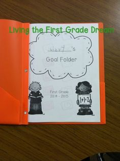 You Oughta Know About Student Data Folders! Shared by Katie from Living the First Grade Dream.