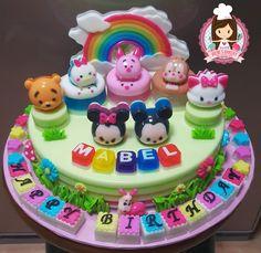 """9"""" Tsum Tsum Agar Agar Jelly Cake"""