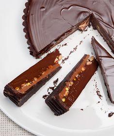 Greek Sweets, Greek Desserts, Party Desserts, Keto Chocolate Recipe, Chocolate Fudge Frosting, Sweet Pie, Sweet Tarts, Chocolate Deserts, Flan