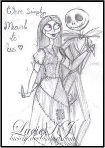 Jack and sally love quotes bing images nightmare for Sally nightmare before christmas coloring pages