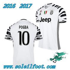 Vente Nouveau Maillot De Foot Juventus (POGBA 10) Third Saison 16 17 Pas Chére