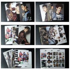 [ GOT7 ] K-POP Idol Goods JYP Photo Card 12pcs Stlcker 3pcs Post Card