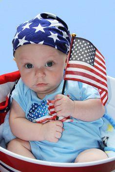 Mason's 1st 4th of July...
