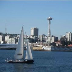 Sailing in Seattle