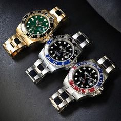 @rolexdiver's GMT Masters. What's your pick?