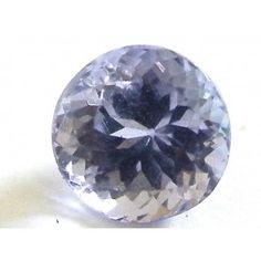 Tanzanite 1.535 ct round cut 6.6 mm Gems, Vase, Rock, Home Decor, Decoration Home, Room Decor, Rhinestones, Skirt, Jewels