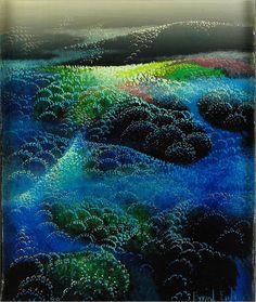 Fields of Fog Eyvind Earle - WikiPaintings.org 1990
