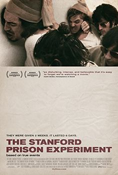 With Ezra Miller, Tye Sheridan, Billy Crudup, Olivia Thirlby. In twenty-four male students are selected to take on randomly assigned roles of prisoners and guards in a mock prison situated in the basement of the Stanford psychology building. Imdb Movies, 2015 Movies, Movies To Watch, Good Movies, Stanford Prison Experiment, Michael Angarano, I Love Cinema, Drame, What Really Happened