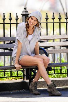 Behati Prinsloo - Behati Prinsloo Poses for Victoria's Secret in NYC 10