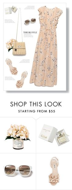 """""""The ruffles"""" by yexyka ❤ liked on Polyvore featuring Creative Displays, Chloé, Emmanuelle Khanh, Miu Miu, Barneys New York and ruffles"""