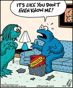 To know Cookie monster