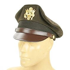 These kept the cap in its proper, regulation military shape and angle. The crush cap identified its wearer as an experienced pro, and was as much a part of his identity as his leather flight jacket. Disco Fashion, 1940s Fashion, Vintage Fashion, Victorian Fashion, 1920s Mens Hats, Military Cap, Military Uniforms, Leather Flight Jacket, Vintage Men