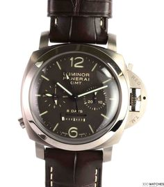 Panerai PAM Luminor 8 Days GMT Monopulsante Stainless Steel | discount watches | 300watches