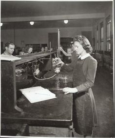 College Day Queen in Chemistry. 1941. UHPC, University Archive, Archives and Special Collections, CSU, Fort Collins, CO