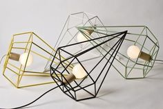 The latest trend in lighting is soft, muted pastel hues.: LUX Diamond Light
