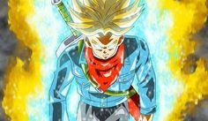 Future Trunks and his new transformation, whatever it is