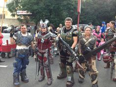 Gears group at the DragonCon 2013 parade
