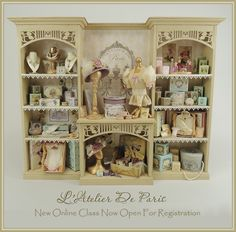 Cynthia Howe Miniatures!, Your premier source for Dollhouse Miniatures, Miniature Classes, Miniature Dolls and Molds, Kits and Free Tutorials.