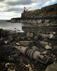From this morning.. Industrial drift wood Neist Point Isle of Skye.. #iphoneonly #todayslocation #neistpoint by jccalverley