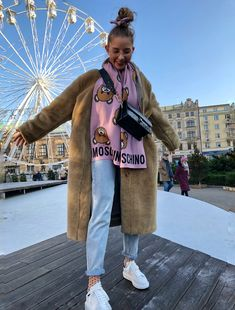 #teddy #teddycoat #jeans #happy #ootd #moschino #photography #fashion Teddy Coat, Moschino, Mario, Ootd, Jeans, Happy, Photography, Instagram, Fashion