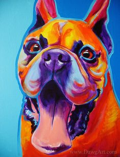 Hey, I found this really awesome Etsy listing at https://www.etsy.com/listing/166247890/boxer-pet-portrait-dawgart-dog-art-boxer