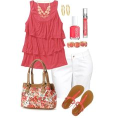 >> I like this Plus Measurement Summer time, created by kerimcd on Polyvore...