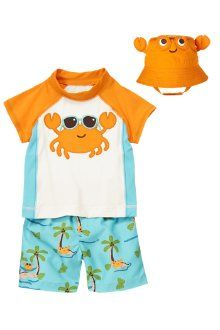 Beach Crab swimset Gymboree