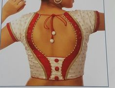 Stylish blouse back neck designs beautiful patch work blouse models simple blouse designs ue 17 latest thread work blouse designs latest blouse designs backTop 15 Simple Blouse Designs Of 2018 … Patch Work Blouse Designs, Simple Blouse Designs, Stylish Blouse Design, Dress Designs, Sleeve Designs, Latest Blouse Patterns, Designer Blouse Patterns, Saree Blouse Neck Designs, Making Ideas