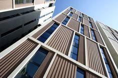 Techrete :: Home Precast Concrete Panels, Concrete Bricks, Concrete Facade, Cement, Brick Face, Brick Texture, Stone Panels, Facade Design, Prefab