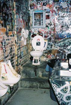 Bathroom at CBGB's