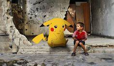 Syrian Kids Use 'Pokémon Go' To Raise Awareness to Their Plight .. #PokemonGo used in a good cause... #PrayForSyria #PokemonInSyria #Syria .. http://www.inquisitr.com/3341643/syrian-kids-use-pokemon-go-to-raise-awareness-to-their-plight/