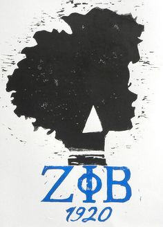 Zeta Phi Beta on Etsy, $25.00