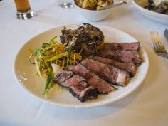 DINNER Grilled Ribeye Tagliatta - with cool potatoes and aceto | Yelp