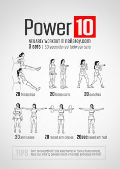 Power 10: Strong, toned arms workout.