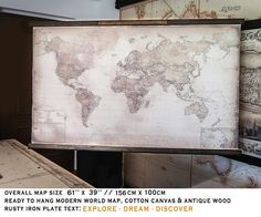 Carte du monde 2017 61 x 39 156x100cm cadeau pour