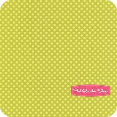 Hot Chocolate Green Tonal Dot Yardage SKU# 4140109-06 $10.75/yd