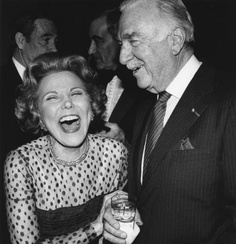 Walter Cronkite and Ann Landers