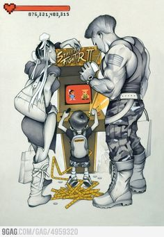 Awesome street fighter fan art by Chris B. Super Nintendo, Game Character, Character Design, Capcom Street Fighter, Street Fighter Characters, Chris B, D Mark, Arte Dc Comics, Drawn Art