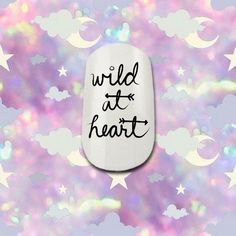 Wild at Heart Nail Decals