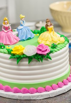 Disney Princesses castle birthday cake Castle birthday cakes