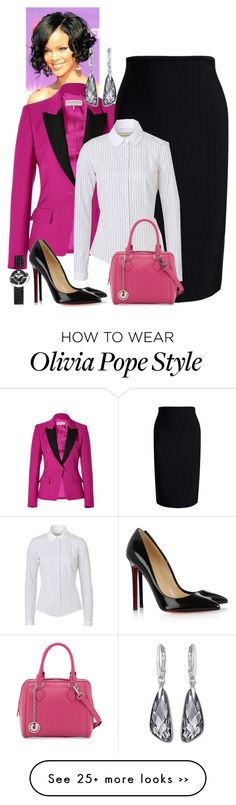 """Spicing Up Olivia Pope"" by andreaaitken on Polyvore"